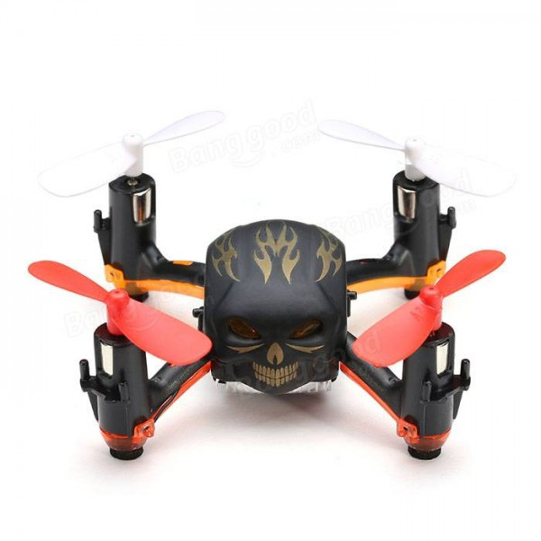 Global Drone GW008 Mini Skull 2.4G 4CH 6Axis Automatic Parallel System 3D Rolling RC Quadcopter