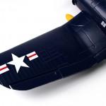F4U-4 Corsair Warbird EPO 1200mm (PNF)-1