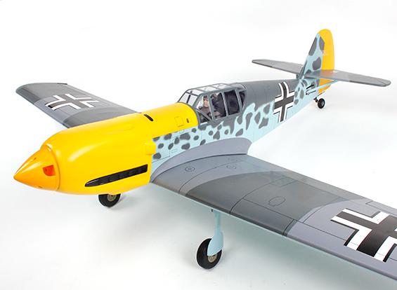 Messerschmitt BF-109 German Fighter GP-EP 1560mm (ARF)-1