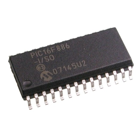 PIC 16F886 - SMD